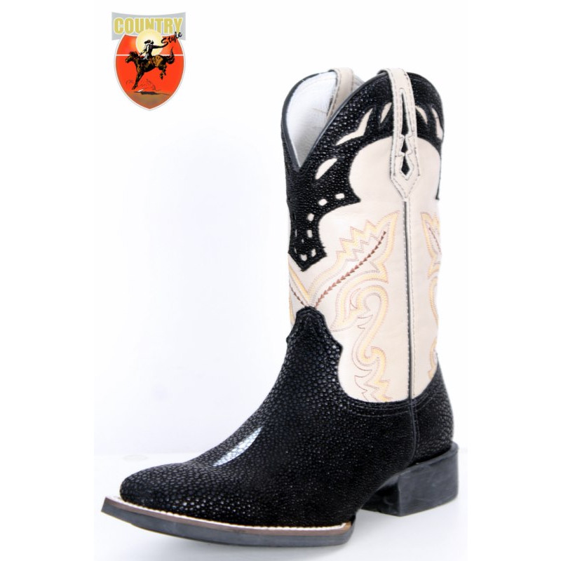 BOTA TEXANA WEST COUNTRY REPLICA ARRAIA - PRETO 81199 bc486c25705