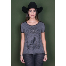 T-SHIRT TURN N' BURN - ZENZ WESTERN
