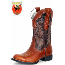 BOTA MASCULINA TEXANA GOYAZES PULL UP TAM - DALLAS CAFE 1202-CEF