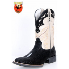 BOTA UNISSEX TEXANA WEST COUNTRY REPLICA ARRAIA - PRETO 81199