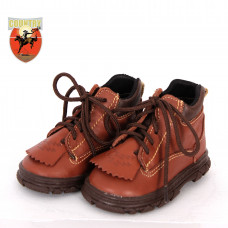 COTURNO BABY BULL LEATHER BABY - MARROM